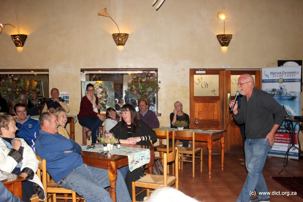 Michael Lutzeyer (grootbos) Helping Out At The Auction